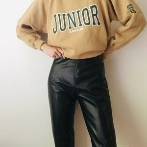 Vintage Danier Leather Pants Size 4